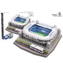 3D puzzle: Real Madrid Santiago Bernabeu football-stadium - Trefl