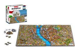 3D puzzle: világhírű városok - Budapest 4dcityscape puzzle