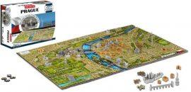3D puzzle: világhírű városok - Prága 4dcityscape puzzle