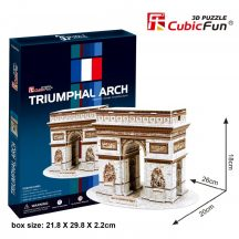 3D puzzle: Triumphal Arch CubicFun 3D famous historical building