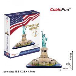 3D puzzle: Statue of Liberty (USA) CubicFun 3D building models