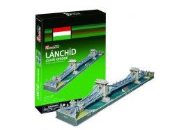 3D puzzle: Famous Hungarian Buildings - Chain bridge - CubicFun building models