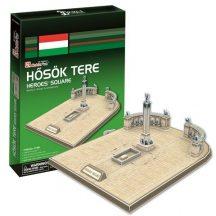 3D puzzle: Hősök tere CubicFun 3D puzzle magyar épület makettek