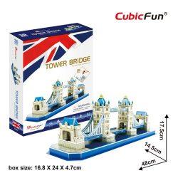 3D puzzle: Tower Bridge CubicFun 3D híres épület makettek