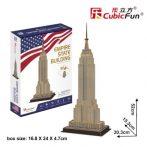 3D puzzle: Empire State Building (új) CubicFun 3D épület makettek