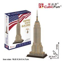 3D puzzle: Empire State Building (new) CubicFun 3D building models