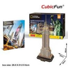3D puzzle: Empire State Building - National Geographic