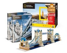 3D puzzle: Tower Bridge - London
