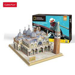 3D puzzle: Szent Márk tér - Velence