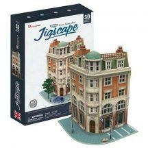 3D puzzle: Corner Saving Bank (UK) CubicFun 3d híres épület makettek
