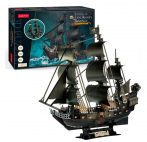 3d LED lighting puzzle: Queen Anne's Revenge CubicFun ship model