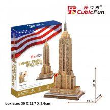 3D puzzle: Empire State Building (USA) CubicFun épület makettek