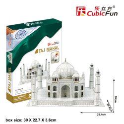 3D puzzle: Taj Mahal CubicFun 3D híres épület makettek