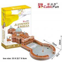 3D professional puzzle: St. Peter's Basilica CubicFun building models