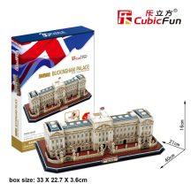 3D puzzle: Buckingham palota CubicFun 3D híres épület makettek