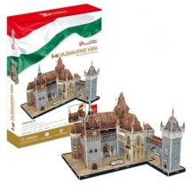 3D puzzle: Famous Hungarian Buildings - Vajdahunyad Castle - CubicFun building models