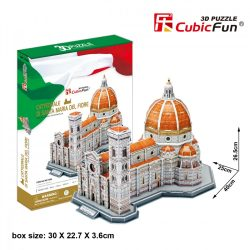 3D puzzle: Cathedral of Saint Mary of the Flower Cubicfun 3D building model