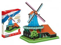 3D puzzle: Dutch Windmill CubicFun 3D building models