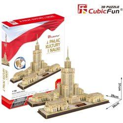 3D puzzle: Kultúra és Tudomány Palotája CubicFun 3D híres épület makettek