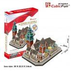 3D puzzle: Waweli székesegyház CubicFun 3D híres épület makettek