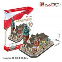 3D puzzle: Wawel Cathedral CubicFun 3D famous historical building