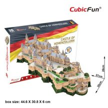 3D profi puzzle: Hohenzollern-kastély CubicFun 3D híres épületek