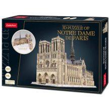 3D profi puzzle: Notre Dame de Paris CubicFun 3D épület makettek