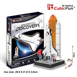 3D puzzle: Space Shuttle Discovery CubicFun 3D vehicle models