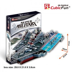 3D puzzle: Aircraft carrier Kiev CubicFun military vehicle models