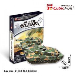 3D puzzle: Leopard 2A5 tank CubicFun katonai jármű makettek