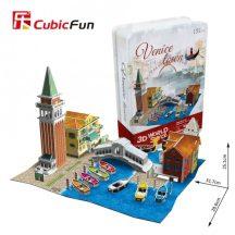 3D puzzle: CityLine Venice Town CubicFun 3D famous building