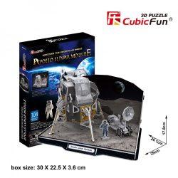 3D puzzle: Apollo Lunar Module CubicFun 3D vehicle models