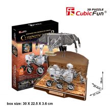 3D puzzle: Curiosity Rover CubicFun 3D vehicle models