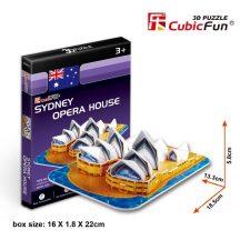 3D kicsi puzzle: Sydney-i Operaház CubicFun 3D épület makettek