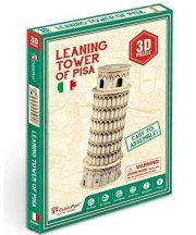 3D kicsi puzzle: Pisai ferde torony CubicFun 3D épület makettek