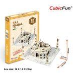 3D small puzzle: Taj Mahal CubicFun 3D building models