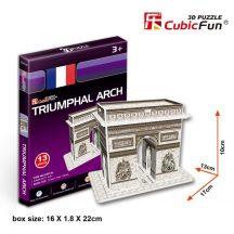 3D kicsi puzzle: Diadalív CubicFun 3D épület makettek