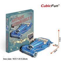 3D small puzzle: Mercedes-Benz 500K CubicFun car models