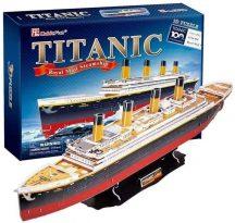 3d profi puzzle: Titanic CubicFun hajó makettek