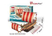 3D puzzle: Roman Warship CubicFun ship model