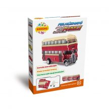 3D puzzle: Movable Double Decker Bus - Kensho vehicle model
