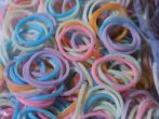 Rainbow Loom Rubber Bands Refill Pack [600 ct] - pastel, color mix