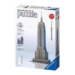 3D puzzle: Empire State Building - Ravensburger híres 3dpuzzle épület makettek