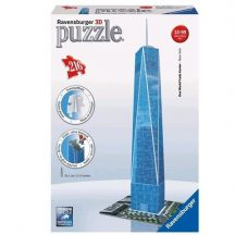3D puzzle: World Trade Center Ravensburger 3d híres épületek