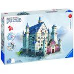 3D puzzle: Neuschwanstein kastély - Ravensburger híres épület makettek