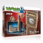 3D professional puzzle: Big Ben 3D famous building models - WREBBIT