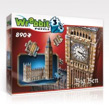 3D puzzle: Big Ben 3D épület makett - Wrebbit