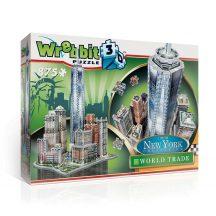 Wrebbit 3D profi puzzle: New York Collection - World Trade 3D famous building models