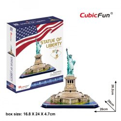 3D puzzle: Statue of Liberty (USA) CubicFun 3D building models