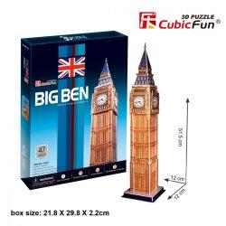 3D puzzle: Big Ben CubicFun épület makettek